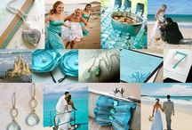 Aqua...my second favorite color / by Linda Strawn