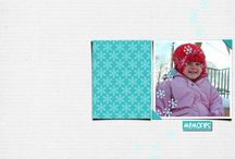 [Le Digiscrap de Ga'L] pages with my templates / pages made by my friends with my templates