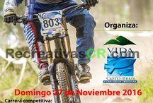 Noviembre 2016 - Recreativas MTB Costa Rica / Recreativas MTB en Costa Rica para el mes de Noviembre 2016