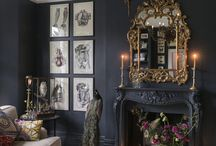 Dark Eclectic Home