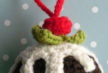 Horgolt karácsonyi dolgok/Crochet Christmas