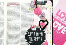 Illustrated Faith / Bible Journals, Bella Blvd products, Shanna