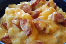 casseroles/cold day recipes / by Laura Essenburg