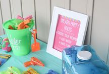 bday parties for ava / by Kristin Peterson