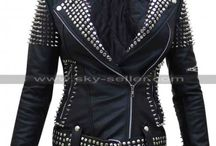 Till the World Ends Britney Spears Studded Jacket / Get this stylish Spiked Britney Spears Black Leather Jacket at most affordable price from Sky-Seller and avail free Shipping.