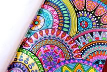 Zentangle color