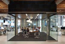 Décoration bureaux entreprise / Découvrez comment décorer et aménager un bureau dans une entreprise.Open space, sièges sociaux des grandes entreprises.