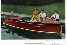 Boats / Classic boats for on the lake and at sea. Lots of Chris Craft and wood boats that are as beautiful as art.