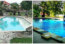 Pool Renovations / Pool Renovation and Repair Examples done by Dallas Fort Worth Pool Builder, Puryear Custom Pools