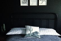 My dream super smart bedroom / I like this edgy look for my small bedroom. Looks cool so my boyfriend would like it too! :)
