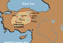 Ancient Greece, Phrygia, Crete