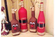 Christmas bottle