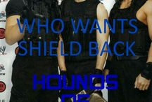 We Want SHIELD Back / If You Want SHIELD Back Then Pls Help Me And Wrestling Queen To Get The SHIELD BACK