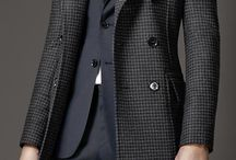 Men's must have overcoats / by A Farley Country Attire