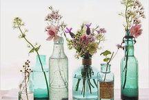 Llena tu casa de flores / La primavera ha llegado ¿Qué te parecen estas ideas para llenar tu casa de flores?