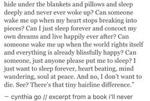 excerpt a book ill never write