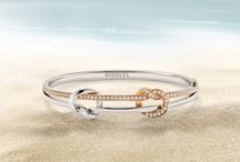 The Knot / Inspired by the delicate intricacy of a traditional sailor's knot, this classic collection draws upon the ancient maritime symbol of love.  www.boodles.com/collections/knot.html