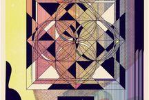 Geometric / Succombez à la tendance géométrique avec une affiche en édition limitée ! #geometric