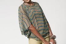 Silk habotai or silk chiffon blouse