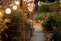 Back patio ideas / by Ashley Shaner