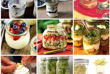 mason jar meals / by Christy Lunt-Schulze