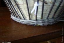 Pletenie aj kosikov, postupy