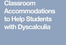 Accommodation for dyscalculia