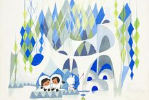 Mary Blair / Famous Illustrator who worked with Disney