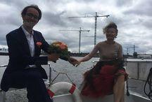 Romance on the boat
