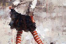 Schilderij 3 / Vrouwen