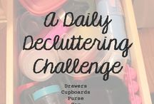 Decluttering Ideas / The how to's, the 1, 2, 3's, the what stay's and what go's, etc... / by Cindy Larkin
