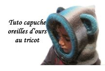 cagoule tricot