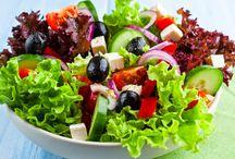 Saladas gostosas e bonitas