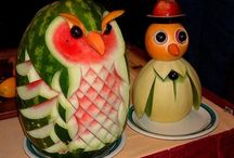 carved watermelons / by Danielle Brown