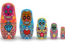 Our favorite Day of the Dead merchandise / Day of the Dead Pinterest Favorites