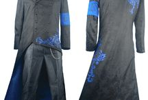 Devil May Cry costumes / Devil May Cry Dante, Vergil, Kat Cosplay Costume outfit video game anime