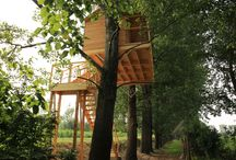 TREEHOUSE / My treehouses and inspirations #treehouse #casesuglialberi