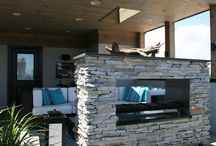 OUTDOOR FIREPLACE / STAY WARM AND COZY NEXT TO THESE OUTDOOR FIREPLACES!