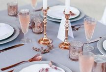 Neutral Colours for Wedding Reception