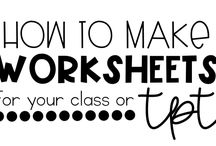 Worksheet creation
