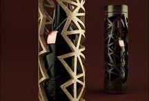 Vins / Coffrets, pubs, packagings, packshots intéressants
