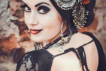 Maquillage Danseuse Tribal...