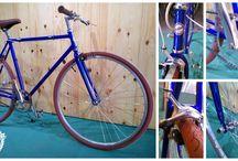 Bicicletes Autor / Mostraremos los trabajos realizados en la tienda.