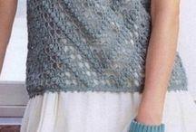 blusas crochet