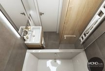 Ciepłe i jasne wnętrze mieszkania w Krakowie / Dominują kolory drewna i bieli uzupełnione czarnymi dodatkami nadającymi wnętrzu oryginalności. Wszystko utrzymane w minimalistycznym, a jednocześnie przytulnym i nowoczesnym klimacie:)  Po więcej inspiracji zapraszamy na Naszą stronę internetową:biuro@monostudio.pl oraz na Facebooka:)