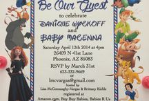 Baby showers invitations