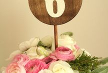 wedding table numbers  | meseros boda / wedding table numbers inspiration  | inspiración meseros de boda