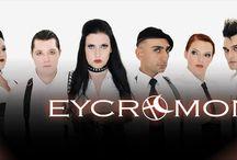 EYCROMON MUSIC - Bühnenkostüm / Es freut mich nach der bekannten Gothic Band #Umbra et Imago# eine weitere Band mit meiner Arbeit auszustatten. Hier auf dieser Pinnwand zeige ich Euch erste Bilder davon. Weitere folgen in nächster Zeit von den vielen Konzerten die noch kommen werden.  Vielen Dank an die Band  http://www.youtube.com/TheEYCROMON