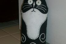 Cat Doorstop free pattern