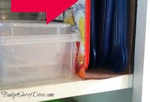 Organizing and cleaning / by Jeannine Irwin
